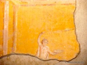 Pompeian fresco
