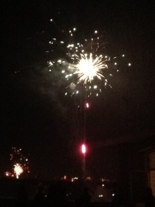 Fireworks on December 31st 2012