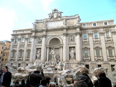 Rome and the Trevi Fountain
