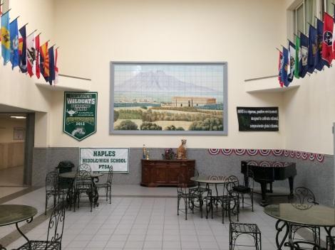 NAHS entrance
